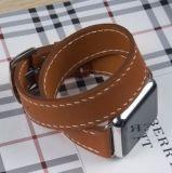 Apple Watch Band Vintage Bracelet en cuir véritable Bracelet