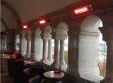 Calefactor de infrarrojos calentador eléctrico para la iglesia de Budapest