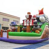 Barco Pirata inflable diapositiva (AQ01409)