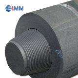 Elétrodos do carbono da grafita usados para o Smelting da fornalha elétrica