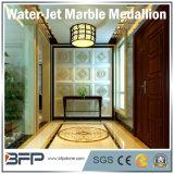 Scultura di pietra del medaglione di marmo naturale da Waterjet per il corridoio di corridoio dell'hotel