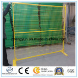 Cerca temporal del alambre de la autógena de la venta de fabricantes de la cerca de la construcción