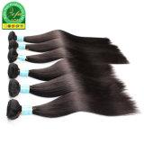 Haut de page vierge mongol droites de la qualité des cheveux humains de la trame