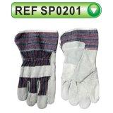 Перчатки коровы перчаток техники безопасности на производстве Split кожаный работая перчатки (SP0201)