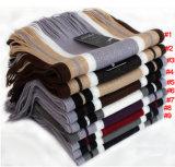 人は作るアクリルの編まれた冬のスカーフ(YKY4334)を