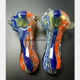 4.13 Inch Glass Water Pipe of Color Pattern Smoke Pipe