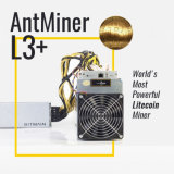 Minatore del minatore L3+ Litecoin di Antminer L3+ 504mh/S Litecoin