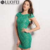 Высокое качество Designer Леди кружевом платье поставщика