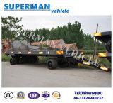 rimorchio industriale a base piatta pratico della barra di traino di trasporto di carico 50t per resistente