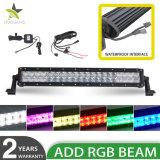 RGB 120W Waterdichte 4X4 12 LEIDENE van de Volt 22inch Lichte Staaf voor de AutoVrachtwagens van de Verlichting