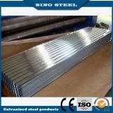 Matériau de toiture galvanisé ondulé de tôle d'acier