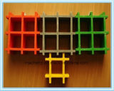 Полиэфир FRP/GRP/Fiberglass скрежеща с большой сеткой
