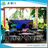 Event di alluminio Party Wedding Concert Trailer Mobile Stages da vendere