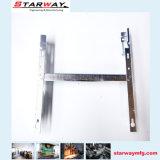 Изготовление заварки части металлического листа