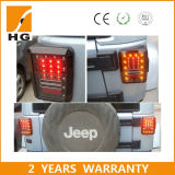 para la luz de la cola de la luz trasera LED del jeep para el Wrangler del jeep 07-15