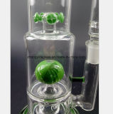 De groene Waterpijp van het Glas van de Filter 13.7 Duim
