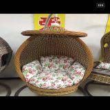 Textilene를 가진 대중적인 안뜰 정원 계란 그네 의자 옥외 의자