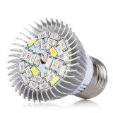28W 가득 차있는 스펙트럼 LED 플랜트 램프 LED는 빛을 증가한다