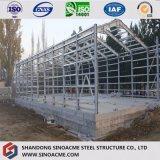 Сваренная светлая мастерская луча h стальной структуры гальванизированная в Африке