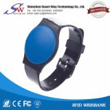 Weicher wasserdichter RFID PlastikWristband