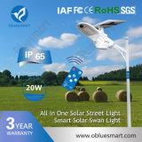 lampada chiara esterna solare della via LED di 20W 3600lm