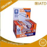 Affichage du compteur en carton avec l'impression CMJN, papier Présentoir, tableau affichage Displayting, carton, papier Présentoir, unité d'affichage de compteur