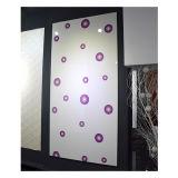 Zhuv Glossy MDF Color Paint Board Pièces de rechange de cuisine (avec motif de fleurs)