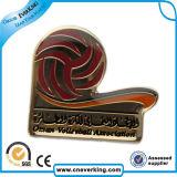 Insignia del Pin de calidad alta de encargo del metal de la solapa para Cap