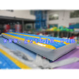 Gymnastics Inflatable Air Tumble Race Track / Jeux de sport gonflables Go Kart Track