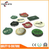 ID de la RFID en plastique et IC Carte avec impression couleur et forme différente