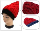 方法デザインハンドメイドのニットの円錐形パターン冬の暖かい帽子の帽子