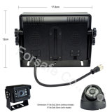 """7 """" Systeem van de Camera van de Mening van de Auto van de Monitor van het Scherm van de Vierling het Achter"""