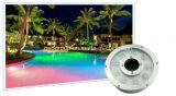 светильник фонтанов света нержавеющей стали IP68 СИД 12W Epistar цветастый подводный/СИД с 2 летами гарантированности