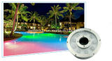 12W Epistar 보장 2 년을%s 가진 다채로운 IP68 스테인리스 LED 수중 빛/LED 샘 램프