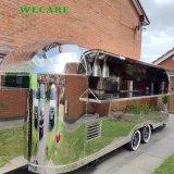 電気熱くする食糧ホットドッグの通りの食糧トレーラー
