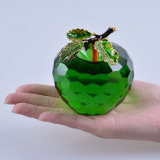 Paperweight Wedding Favor Gift를 위한 80mm Crystal Apple