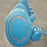 Tipo excêntrico dobro ferro Ductile DIN3302 da válvula de borboleta