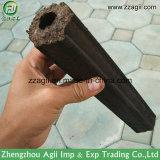 Briqueta de madera del tornillo de la aprobación del certificado del Ce que hace la máquina para el carbón de leña