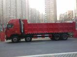 중국 Sinotruk 대형 트럭 HOWO 8 x 4 덤프 트럭