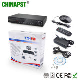 Ponto de entrada NVR da monitoração da câmera do H. 264 8CH 1080P P2p (PST-NVR808P)