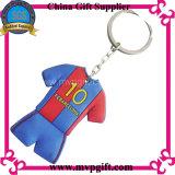 Keychain de goma para el regalo plástico del Keyring (M-PK12)