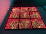 L'éclairage portable DJ Dancing LED RVB de Sparkle Sprung plancher de danse de voitures