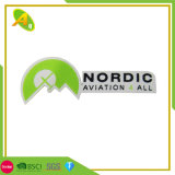 La promotion militaire personnalisé logo 3D'étiquette du vêtement mode correctif pour les vêtements en tissu tissé (012)