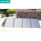 Flexible/pliable portable/ sécurisée/de/couverture Chargeur Panneau solaire pliable pour le camping (200W)