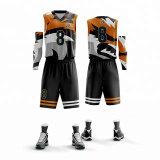 Fabricant de Jersey New Custom SUBLIMATION Maillot de basket-ball de gros