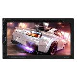 6.95 pouces écran tactile HD 2 DIN FM/MP5/USB/aux DVD radio stéréo de voiture Bluetooth