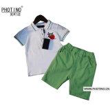 Garçon Fashion nouveau costume d'été Polo Shirt et Shorts