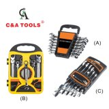 Combinação de catraca flexível de aço carbono chave dinamométrica regulada