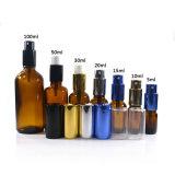 De kosmetische Containers van de Fles van het Parfum van het Glas van Subpackage 30ml 50ml 100ml Amber en van de Fles van de Essentiële Olie en van de Room