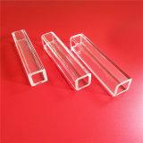 Tubo libero di lucidatura ottico del quarzo del silicone di rettangolo